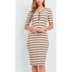 Mustard Mauve Stripes found on MODAPINS from Shoptiques for USD $26.00