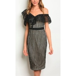 Crochet Ruffle Dress found on Bargain Bro India from Shoptiques for $45.00