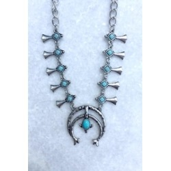 Squash Blossom Necklace found on Bargain Bro from Shoptiques for USD $30.40