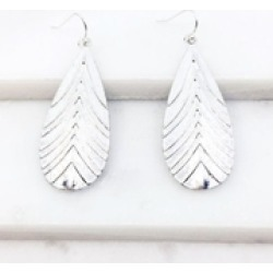 Textured Teardrop Earrings found on Bargain Bro India from Shoptiques for $14.00