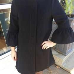 Black Wool & Polyester Coat found on Bargain Bro Philippines from Shoptiques for $265.00