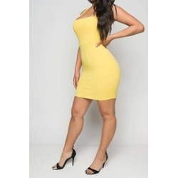 Yellow Mini Dress found on Bargain Bro India from Shoptiques for $40.00