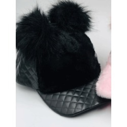 f603398200ac2 Pom Pom Faux Suede Baseball Cap on MODAPINS - Online Shopping for ...