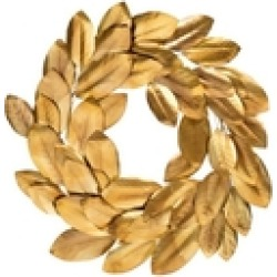 Golden Magnolia Wreath found on Bargain Bro India from Shoptiques for $176.00