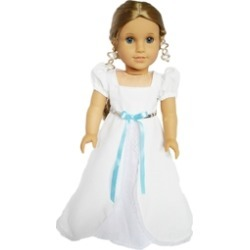 Doll White Victorian Gown found on Bargain Bro from Shoptiques for USD $5.32