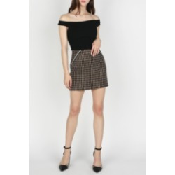 Twill Mini Skirt found on Bargain Bro India from Shoptiques for $49.00