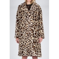 Leopard Faux Fur Maxi Coat found on Bargain Bro Philippines from Shoptiques for $175.00