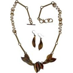 Copper Necklace Set found on Bargain Bro India from Shoptiques for $176.00
