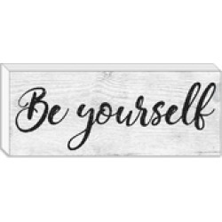 Be Yourself Block found on Bargain Bro from Shoptiques for USD $11.40