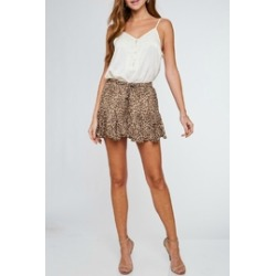 Cameron Leopard Shorts found on Bargain Bro India from Shoptiques for $26.00