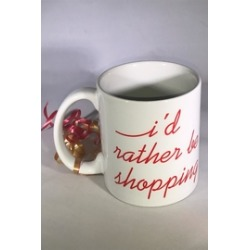 I'd-Rather-Be-Shopping Mug found on Bargain Bro from Shoptiques for USD $22.80