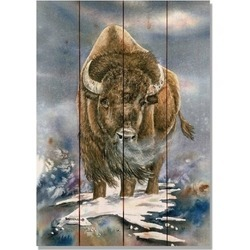 Small Buffalo Print found on Bargain Bro India from Shoptiques for $42.00
