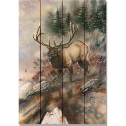 Pine Elk Print found on Bargain Bro India from Shoptiques for $66.00