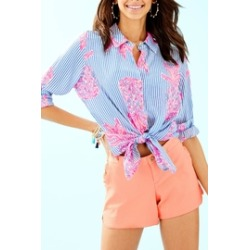 Seaview Button-Down Top