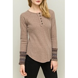 Embellished Sleeve Top found on Bargain Bro Philippines from Shoptiques for $39.00