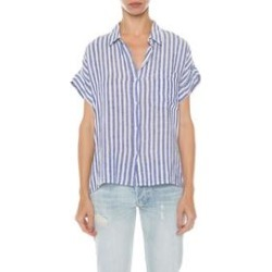 Whitney Blue/White Stripe