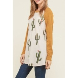Mustard Cactus Sweater found on MODAPINS from Shoptiques for USD $35.50