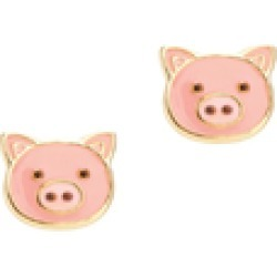 Cutie Enamel Pig Stud Earrings found on Bargain Bro India from Shoptiques for $15.00