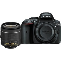Nikon D5300 Digital SLR Camera with AF-P DX 18-55mm VR Lens and. found on Bargain Bro UK from Tecobuy for $492.40