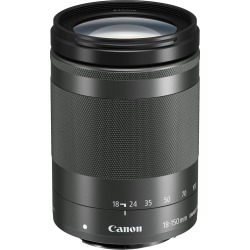 Canon EF-M 18-150mm f/3.5-6.3 IS STM Lens - Graphite (White box) found on Bargain Bro UK from Tecobuy