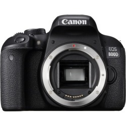 Canon EOS 800D Body Only Digital SLR Camera with Kingston 32GB. found on Bargain Bro UK from Tecobuy for $492.40