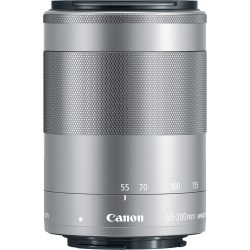 Canon EF-M 55-200mm IS STM lens - Silver (White Box) found on Bargain Bro UK from Tecobuy
