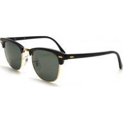 Ray-Ban Clubmaster RB3016 W0365 Sunglasses - Size 49 found on Bargain Bro UK from Tecobuy