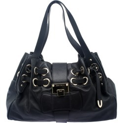 Jimmy Choo Black Leather Riki Tote found on Bargain Bro India from The Luxury Closet for $1790.00