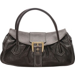 Celine Brown Leather Satchel found on MODAPINS from The Luxury Closet for USD $397.02