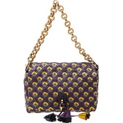 Marc Jacobs Purple Printed Leather Misfit Flap Shoulder Bag found on Bargain Bro India from The Luxury Closet for $271.76