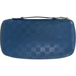 Louis Vuitton Blue Damier Infini Organizer Pack
