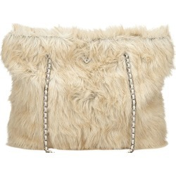 Prada Beige Fur Shopping Tote found on Bargain Bro Philippines from The Luxury Closet for $1795.00
