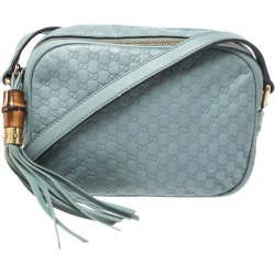 Gucci Mint Green Microguccissima Leather Sunshine Disco Crossbody Bag