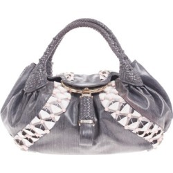 Fendi Grey Limited Edition Beaded Spy Bag found on Bargain Bro India from The Luxury Closet for $4630.00