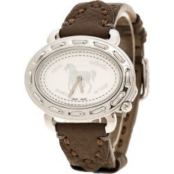 Fendi White Stainless Steel Selleria F83936DCH Women's Wristwatch 40 mm found on Bargain Bro India from The Luxury Closet for $1635.00