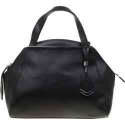 Baldinini Black Leather Satchel found on MODAPINS from The Luxury Closet for USD $149.31
