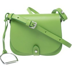 Ralph Lauren Green Leather Saddle Crossbody Bag found on Bargain Bro India from The Luxury Closet for $1395.00