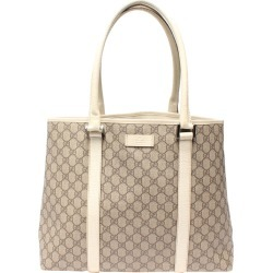 Gucci Grey GG Supreme Canvas Tote Bag found on MODAPINS from The Luxury Closet for USD $631.40