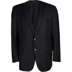 Ermenegildo Zegna Trofeo Black Wool Blazer XXXL found on Bargain Bro India from The Luxury Closet for $1505.00