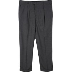 Armani Collezioni Grey Pin Striped Regular Fit Trousers XXXL found on MODAPINS from The Luxury Closet for USD $129.39