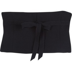 Prada Black Wool Tie Detail Tube Top M found on Bargain Bro India from The Luxury Closet for $294.00
