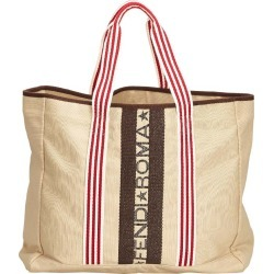 Fendi Beige Canvas Tote Bag found on Bargain Bro India from The Luxury Closet for $455.00