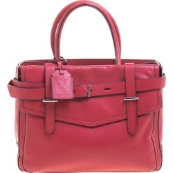 Reed Krakoff Rosewood Pink Leather Boxer Satchel found on Bargain Bro India from The Luxury Closet for $1030.00