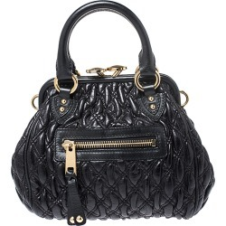 Marc Jacobs Black Leather Mini Stam Shoulder Bag found on Bargain Bro India from The Luxury Closet for $1340.00