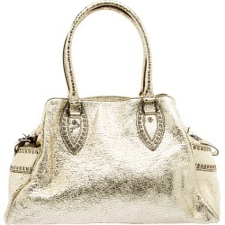 Fendi Gold Leather Du Jour Satchel found on Bargain Bro Philippines from The Luxury Closet for $1240.00
