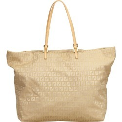 Fendi Brown/Beige Canvas Zucchino Tote Bag found on Bargain Bro India from The Luxury Closet for $455.00