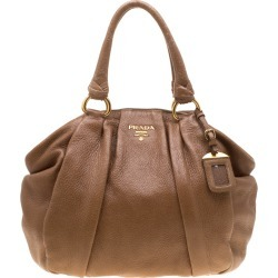 Prada Brown Leather Satchel found on MODAPINS from The Luxury Closet for USD $1595.00