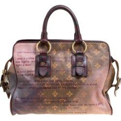 Louis Vuitton Monogram Limited Edition Richard Prince Graduate Jokes Bag