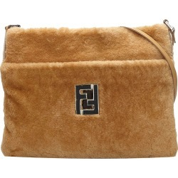 Fendi Brown/Light Brown Wool Crossbody Bag found on Bargain Bro India from The Luxury Closet for $1235.00