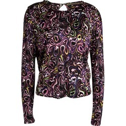 Balenciaga Multicolor Printed Knit Long Sleeve Top M found on Bargain Bro Philippines from The Luxury Closet for $168.00